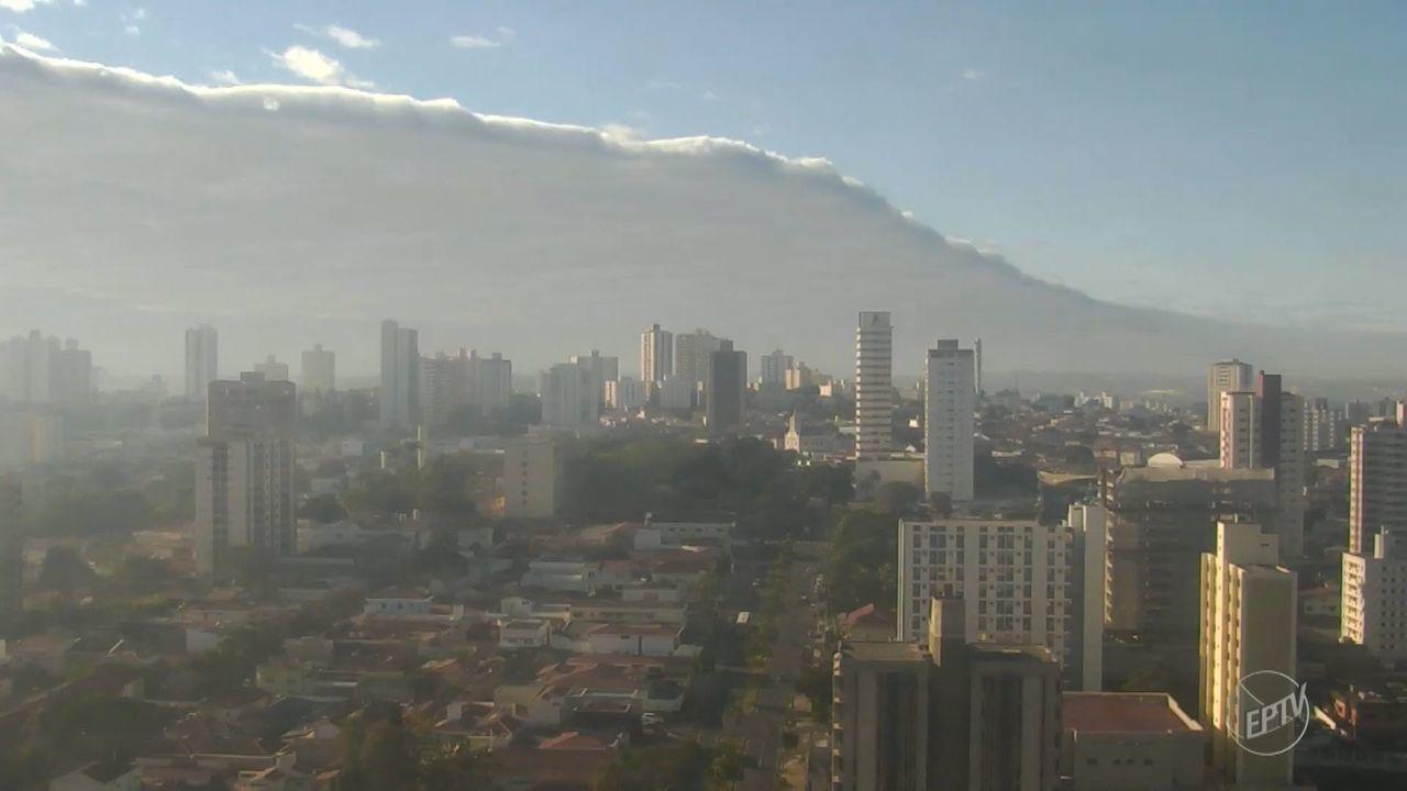 Região de Campinas tem temperaturas baixas neste fim de semana; confira