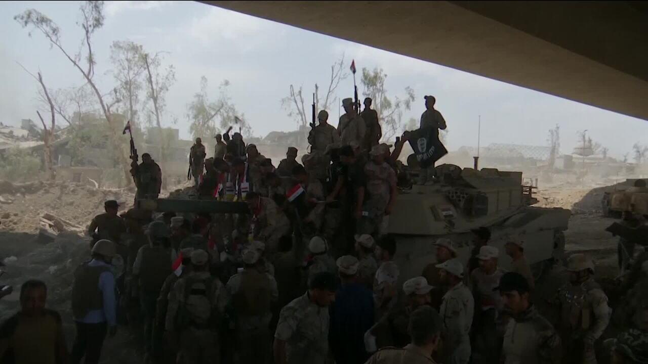 Primeiro-ministro iraquiano anuncia vitória sobre o Estado Islâmico