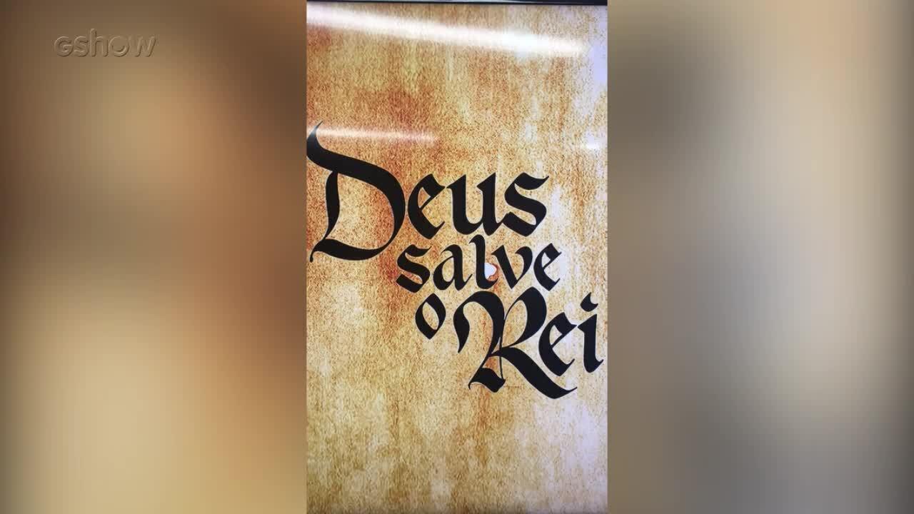 Resultado de imagem para logo Deus salve o rei