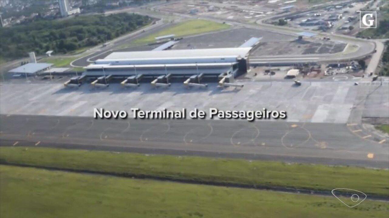 Aeroporto Vix : Veja imagens do sobrevoo no novo aeroporto de vitória g
