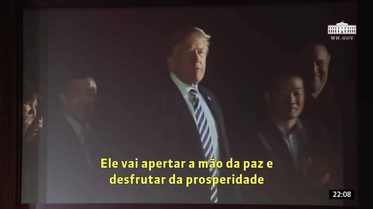 Governo Dos Eua Exibiu Vídeo Motivacional Para Kim