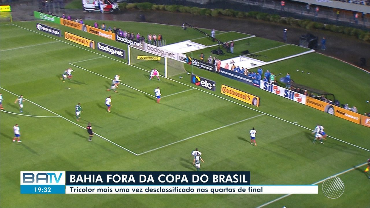 Bahia é eliminado da Copa do Brasil  Vitória enfrenta o Palmeiras pelo  Brasileirão - G1 Bahia - BATV - Catálogo de Vídeos 85c2c91ef4048