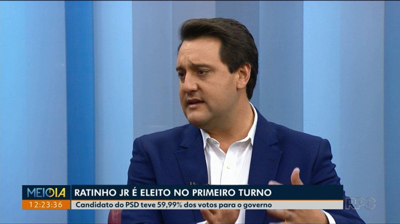 Ratinho JR fala das parcerias com os senadores eleitos no Paraná - G1  Paraná - Paraná TV 1ª Edição - Vídeos - Catálogo de Vídeos 0c2338a939f