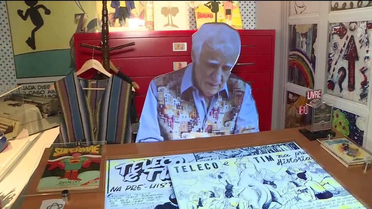 Quadrinhos são destaque em mostra no MIS paulista - GloboNews - GloboNews  em Pauta - Catálogo de Vídeos 2ac43bc198da