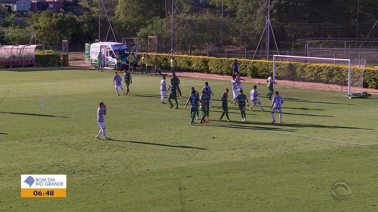 f733c7fe3a Copa FGF  Avenida e São José ficam no empate - G1 Rio Grande do Sul - Bom  Dia Rio Grande - Catálogo de Vídeos