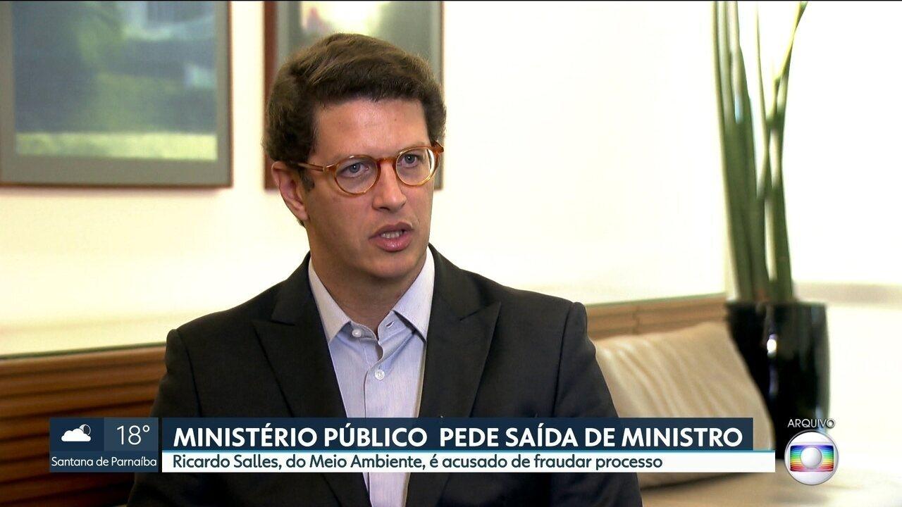 403b67d00abd6 Ministério Público de SP pede saída de ministro do Meio Ambiente - G1 São  Paulo - Vídeos - Catálogo de Vídeos
