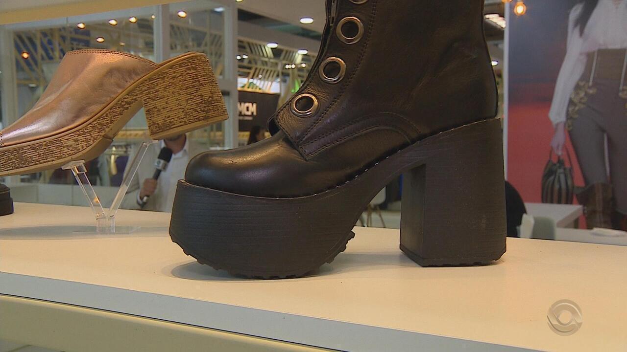 f85ebf74f Feira de calçados em Novo Hamburgo começa nesta terça-feira (26) - G1 Rio  Grande do Sul - RBS Notícias - Catálogo de Vídeos