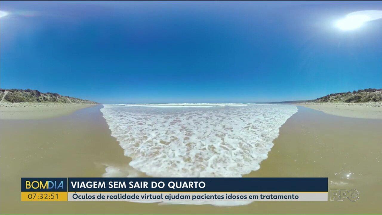 b94c2b3dc Realidade virtual ajuda pacientes idosos em tratamento - G1 Paraná - vídeos  - Catálogo de Vídeos