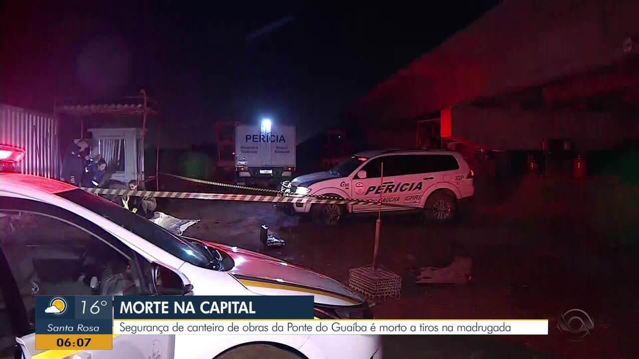 Segurança é Encontrado Morto Na Ilha Das Flores Em Porto Alegre