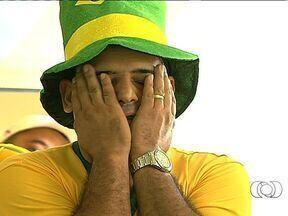Torcida goiana sofre com as emoções do jogo da Seleção