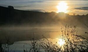 Sul do país registra temperaturas negativas no fim de semana