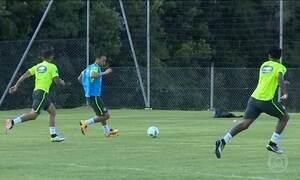 Seleção se prepara para enfrentar o Paraguai nas Eliminatórias da Copa