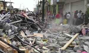 Número de mortos por terremoto no Equador chega a 272