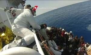 ONU questiona número de vítimas em naufrágio de navio com imigrantes africanos