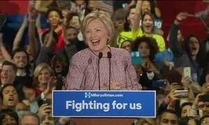 Hillary e Trump vencem primárias das eleições americanas em Nova York