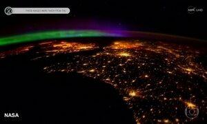 Nasa divulga imagens feitas por astronautas em estação espacial