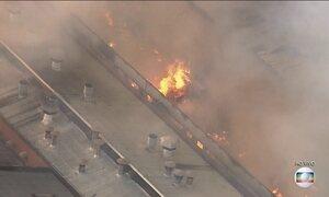 Fogo atinge fábrica no interior de SP