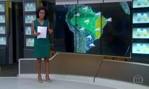 Frente fria entra no Brasil e provoca choque térmico