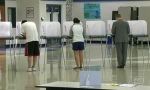 Pré-candidatos às eleições americanas disputam votos em cinco estados
