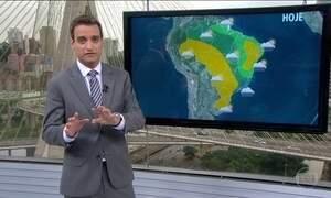 Veja como fica o tempo em todo o país nesta quinta-feira (28)