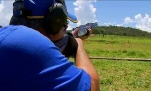 Brasileiro apura pontaria em fazenda de Goiás para os Jogos Olímpicos