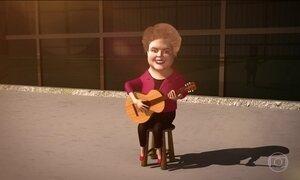 Dilma Rousseff se 'afina' para sua despedida temporária do Palácio da Alvorada