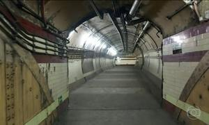 Inglaterra reabre local onde Churchill se escondia do bombardeio nazista
