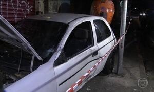 Motorista atropela três pessoas em frente a um bar em São Paulo