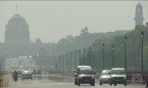 Cidades da Índia enfrentam forte onda de calor