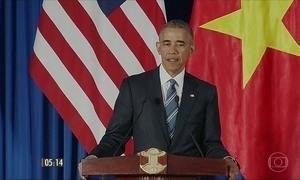 Presidente americano está em visita ao Vietnã
