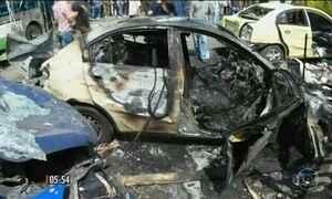 Dobra o número de vítimas durante atentados