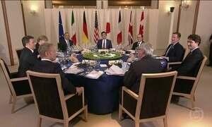 Líderes do G7 se preocupam com a recuperação econômica