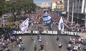 Em São Paulo, o dia foi de festa para os evangélicos