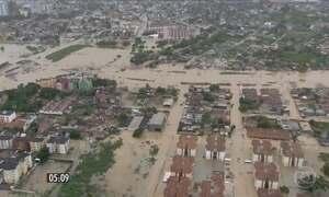 Temporais causam destruição em Pernambuco