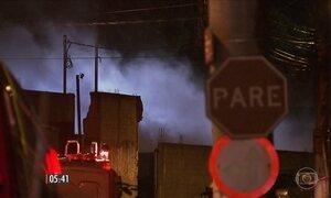 Vazamento de fumaça tóxica assusta moradores
