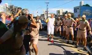 Tocha Olímpica passa por Gravatá, Jaboatão dos Guararapes e Recife (PE)