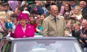 Último dia de comemorações pelos 90 anos da Rainha Elizabeth reúne 10 mil pessoas