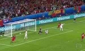 Portugal empata com Islândia em estreia na Eurocopa