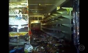 Onda de saques provoca toque de recolher em cidade da Venezuela