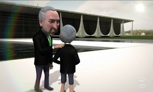 Michel Temer mostra a Michelzinho o que será dele no futuro (ou não)