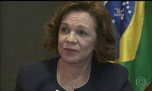 Perfil de Fátima Pelaes tem informação alterada sobre desvio de dinheiro