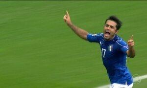 Itália vence e garante vaga na próxima fase da Eurocopa