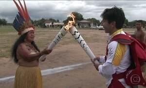 Tocha Olímpica segue o seu caminho pelo Brasil