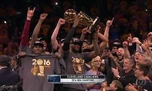 Cleveland Cavaliers conquista título inédito na NBA