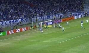 Cruzeiro derrota o Palmeiras na Série A do Brasileirão