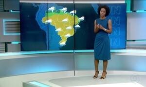 Previsão de chuva para o Norte e Sul neste sábado (2)
