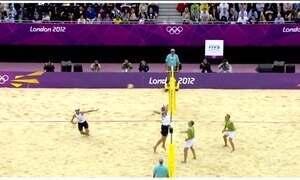 Vôlei de praia já deu 11 medalhas para o Brasil