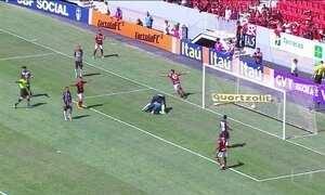 Confira os gols deste domingo (10) no Campeonato Brasileiro
