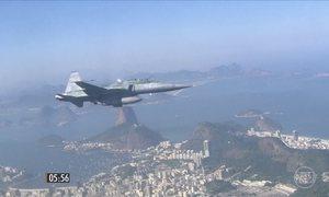 FAB apresenta plano de segurança do espaço aéreo