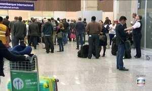 Aeroporto Internacional do Rio registra aumento no movimento com proximidade da Olimpíada